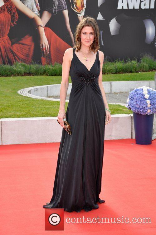 Louise Hamilton,  at the Scottish Fashion Awards...