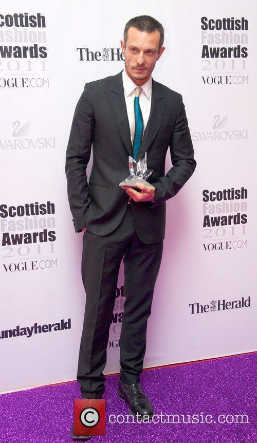 Jonathan Saunders, Scottish Designer of the Year,...