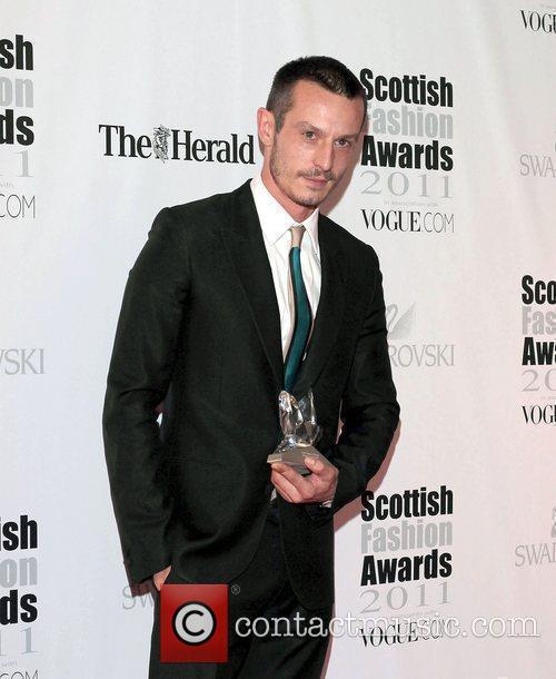 Scottish Designer of the Year Jonathan Saunders with...