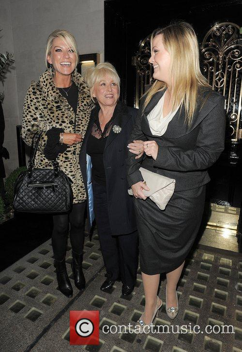 Eastenders, Barbara Windsor, Jo Joyner, Zoe Lucker and Scott's Restaurant 1
