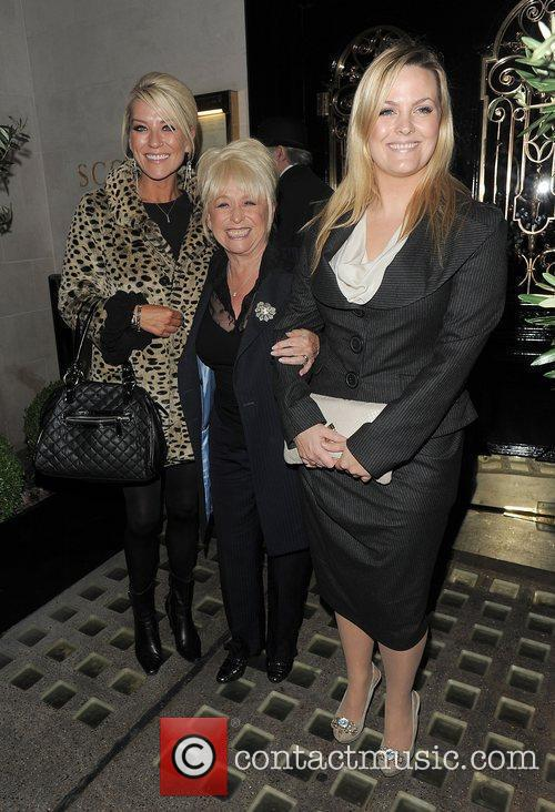 Eastenders, Barbara Windsor, Jo Joyner, Zoe Lucker and Scott's Restaurant 4