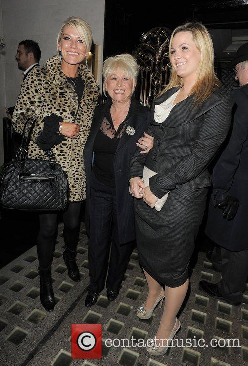 Eastenders, Barbara Windsor, Jo Joyner, Zoe Lucker and Scott's Restaurant 2