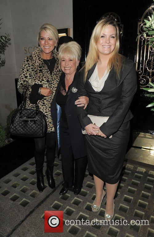 Eastenders, Barbara Windsor, Jo Joyner, Zoe Lucker and Scott's Restaurant 9