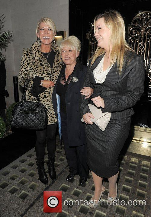 Eastenders, Barbara Windsor, Jo Joyner, Zoe Lucker and Scott's Restaurant 7