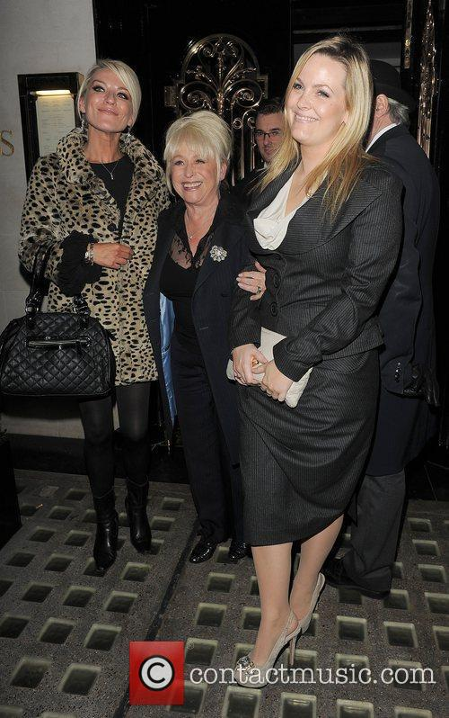 Eastenders, Barbara Windsor, Jo Joyner, Zoe Lucker and Scott's Restaurant 5