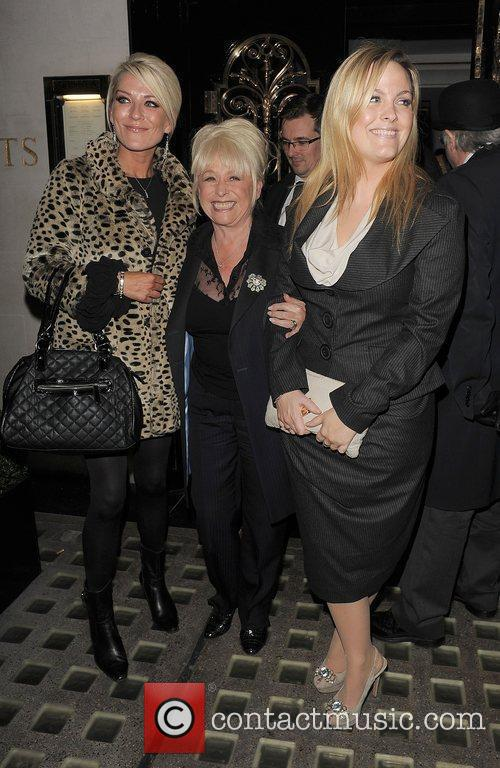 Eastenders, Barbara Windsor, Jo Joyner, Zoe Lucker and Scott's Restaurant 3