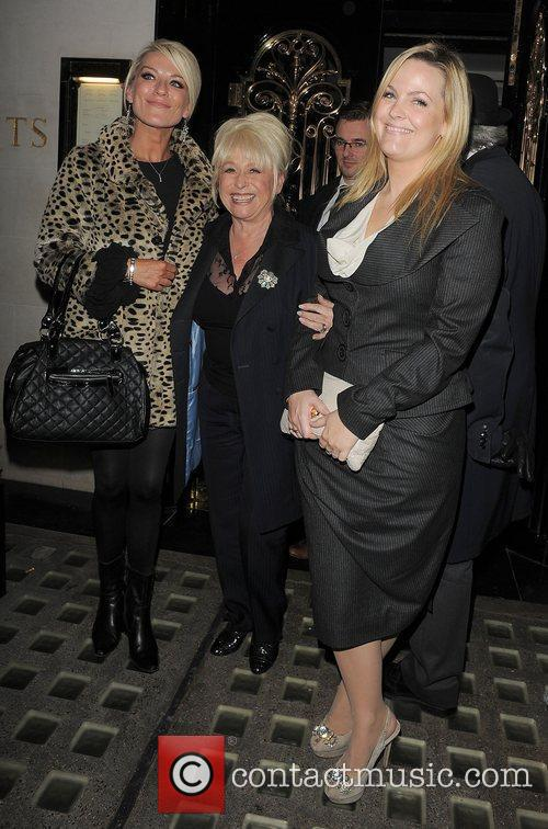 Eastenders, Barbara Windsor, Jo Joyner, Zoe Lucker and Scott's Restaurant 6