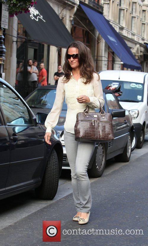 Pippa Middleton Celebrities outside Scott's Restaurant  London,...