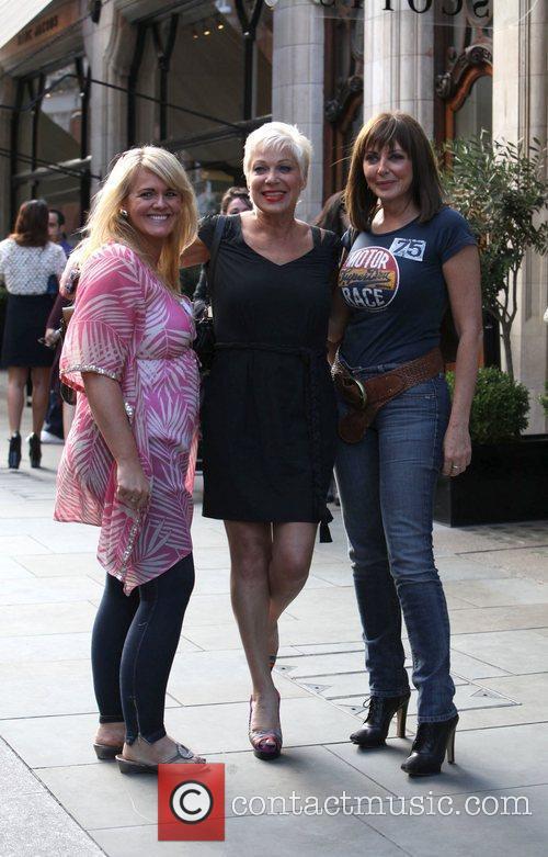 Sally Lindsay, Carol Vorderman and Denise Welch 4