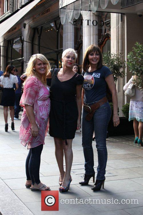 Sally Lindsay, Carol Vorderman and Denise Welch 3