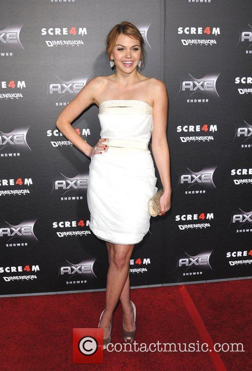 World Premiere of 'Scream 4' held at Grauman's...