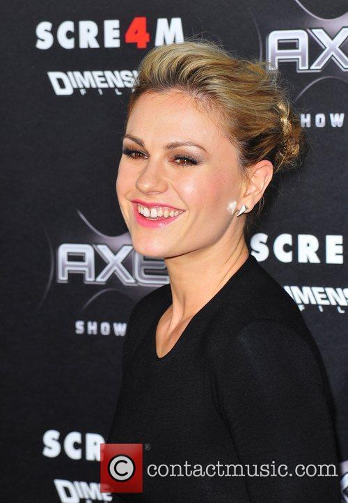 Anna Paquin World Premiere of 'Scream 4' held...