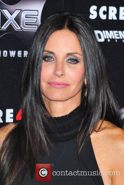 Courteney Cox World Premiere of 'Scream 4' held...