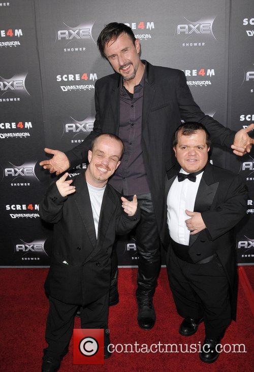David Arquette World Premiere of 'Scream 4' held...