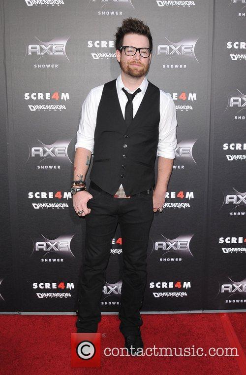 David Cook World Premiere of 'Scream 4' held...