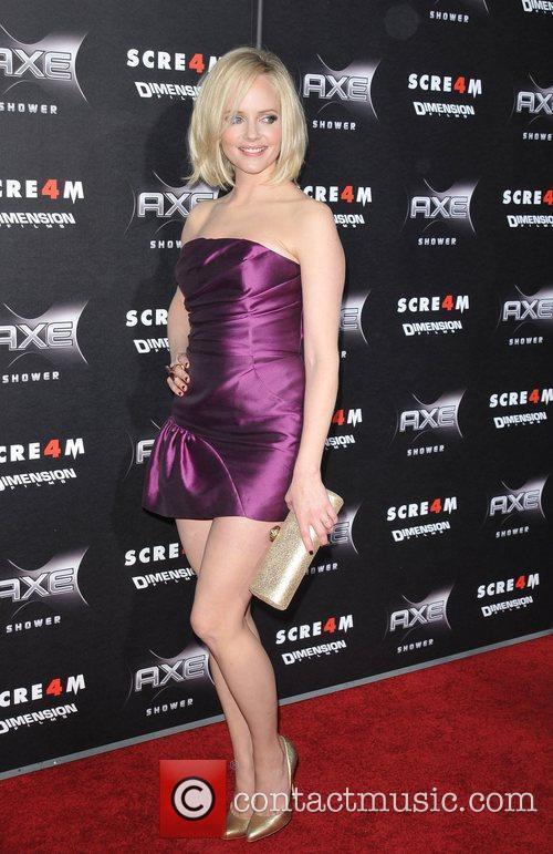 Marley Shelton World Premiere of 'Scream 4' held...