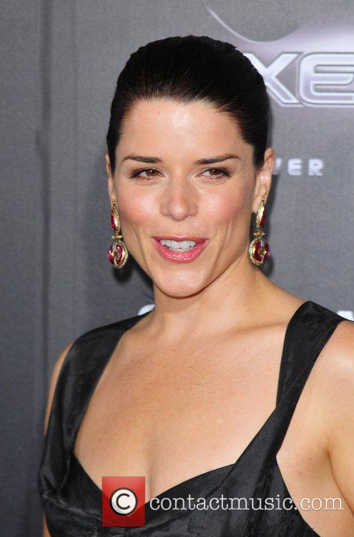 Neve Campbell World Premiere of 'Scream 4' held...
