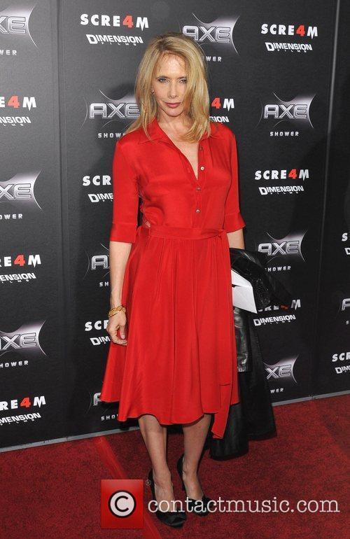 Rosanna Arquette World Premiere of 'Scream 4' held...