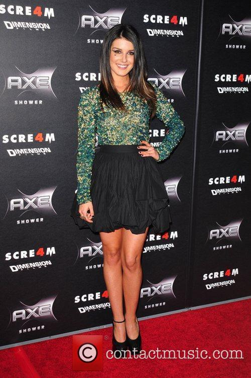 Shenae Grimes World Premiere of 'Scream 4' held...