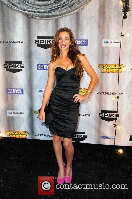 Genevieve Mishlen Spike TV's Scream 2011 Awards at...