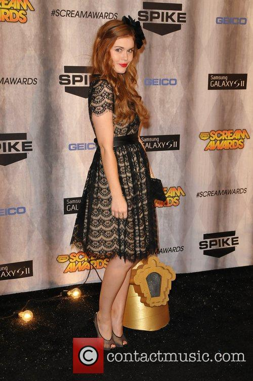Holland Roden Spike TV's Scream 2011 Awards at...