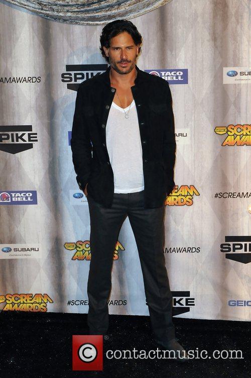 Joe Manganiello Spike TV's Scream 2011 Awards at...