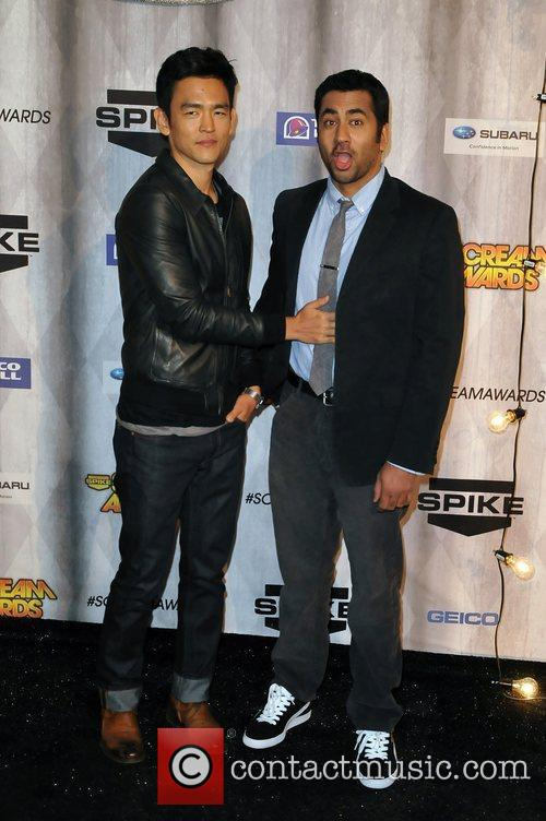 John Cho and Kal Penn Spike TV's Scream...