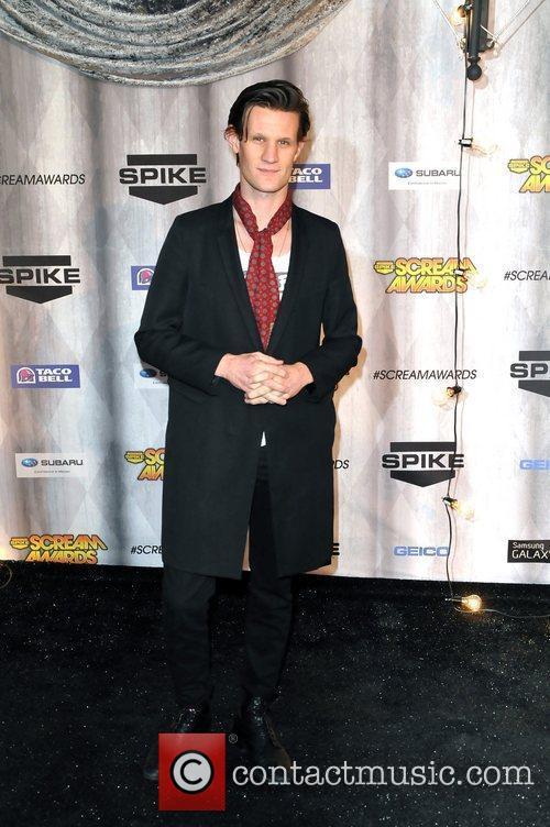 Matt Smith Spike TV's Scream 2011 Awards at...
