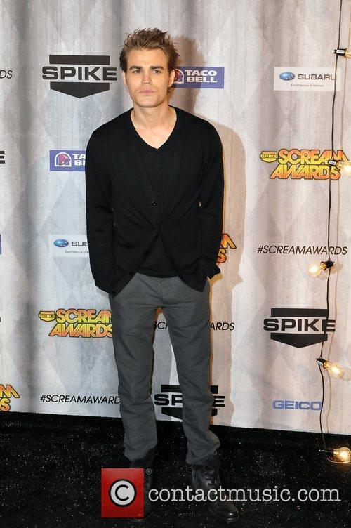 Paul Wesley Spike TV's Scream 2011 Awards at...