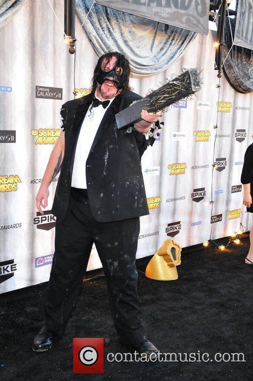 TNA Wrestler Abyss Spike TV's Scream 2011 Awards...