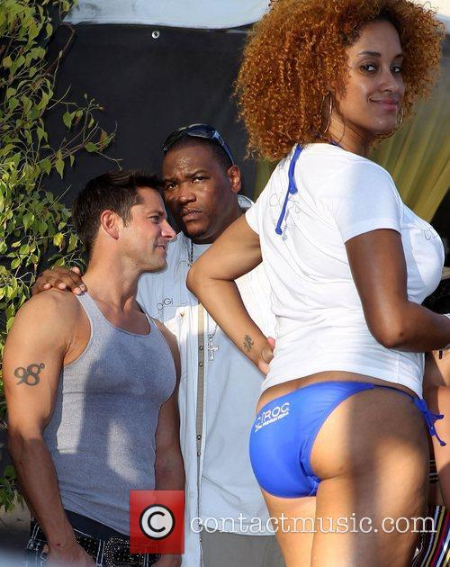 Jeff Timmons Sean 'Diddy' Combs hosts Poolside Bash...