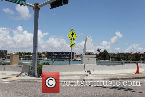 The bridge where Sean Kingston crashed his jet-ski,...