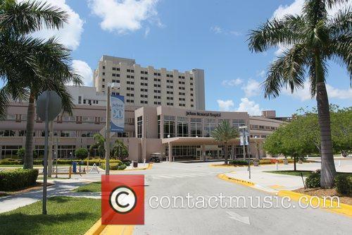 The Jackson Memorial Hospital, where Sean Kingston has...