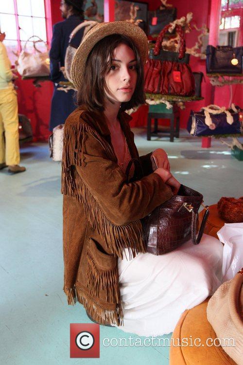 Charlotte Kemp  at the Blumera Handbag Boutique...