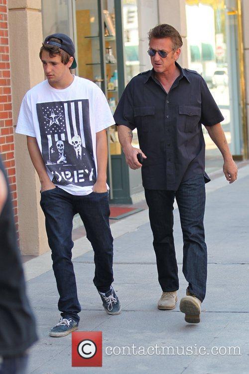 Hopper Jack Penn and Sean Penn Sean Penn...