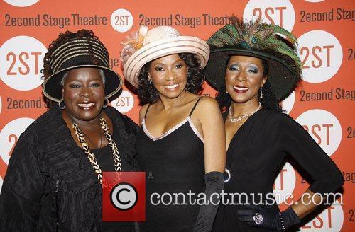 Ebony Jo-Ann, Adriane Lenox and Harriett D. Foy...