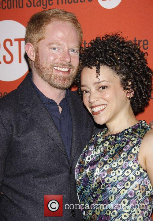 Jesse Tyler Ferguson and Marcy Harriell 2011 Second...