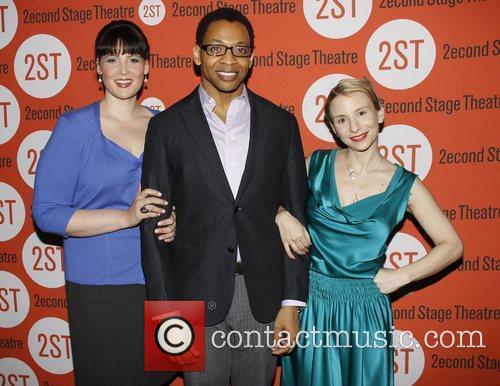Lisa Howard, Derrick Baskin and Sarah Saltzberg 2011...