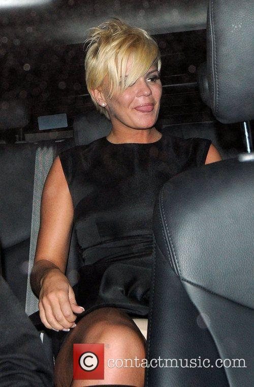Kerry Katona Pink Friday in aid of Breast...