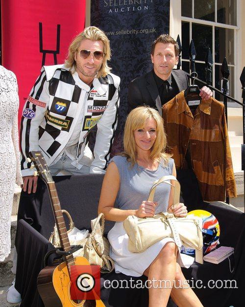 Robbie Savage, Darren Eadie and Gabby Logan The...