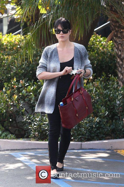 Leaving Coffee Bean in West Hollywood