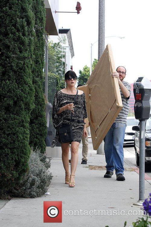 Running errands in West Hollywood, where she dropped...