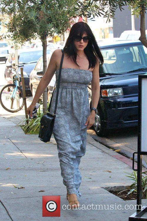 Selma Blair out to lunch with friends at...