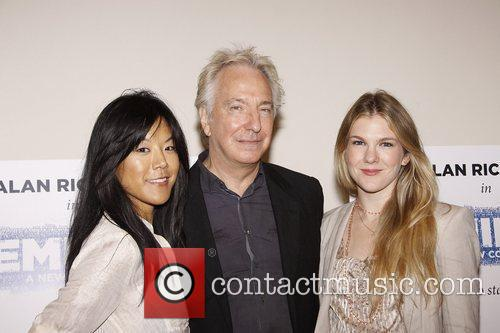 Hettienne Park, Alan Rickman and Lily Rabe Photo...