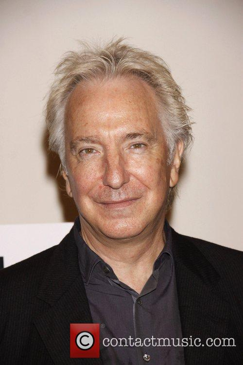Alan Rickman Photo call for the Broadway production...