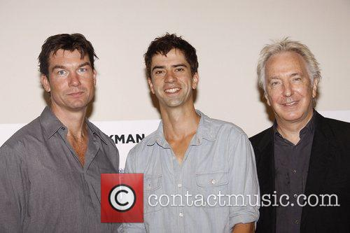 Jerry O'Connell, Hamish Linklater and Alan Rickman Photo...