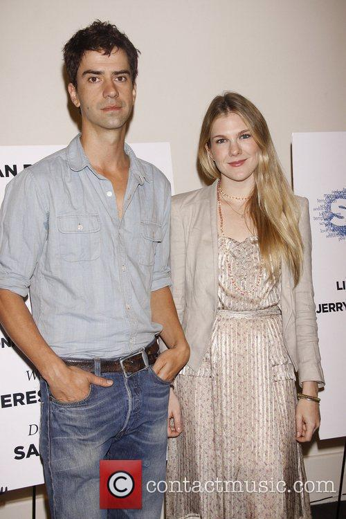 Hamish Linklater and Lily Rabe Photo call for...
