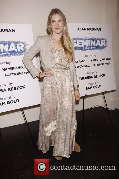 Photo call for the Broadway production of 'Seminar'...