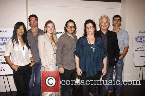 Hettienne Park, Jerry O'Connell, Lily Rabe, director Sam...