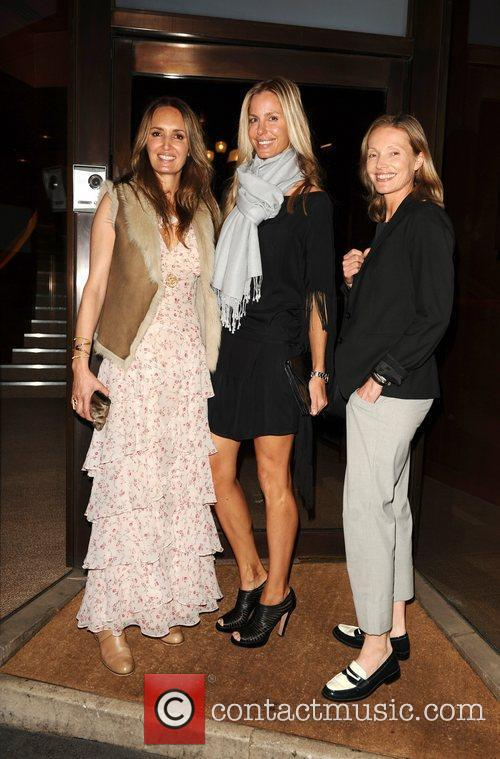 Gail Eliot, Georgina Bartlett and Daniella Smith Peterson...